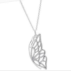 Pandora New Beginning Necklace Butterfly
